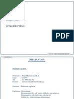 Chapitre 1- GCI 315 – MÉCANIQUE DES SOLS II