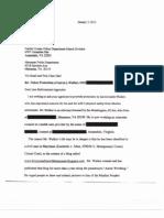 Brett Kimberlin's Letter to Law Enforcement 1.5.12 (OCR)