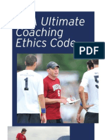 Coaching Ethics Code