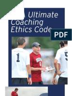 Coaching Ethics Code