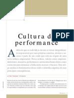Cultura Da Performance