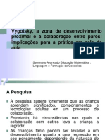 Vygotsky, A Zona de to Proximal