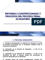 PRINCIPIOS REFORMA CONSTITUCIONAL