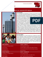 TU Berlin Info for Exchange Students