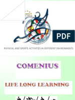 "COMENIUS 1 EPAL KAVALAS ""Physical and sports activities in different environments"""