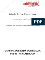 Presentation on Media in the Classroom