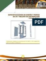Especificaciones de diseño y partes de un tablero de distribucion PARTE 2