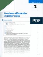Capitulo 02 - Ecuaciones Diferenciales de Primer Orden