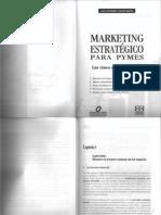 Marketing Estrategico Para Pymes Capitulo i y II
