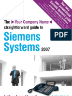 Siemens Brochure and Information