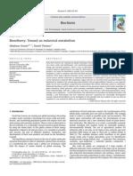 5 Bio Refinery Toward an Industrial Metabolism