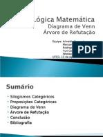 Diagrama_de_Venn_e_Arvore_de_Refutacao.ppt