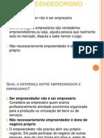 1-Característica de empreendedores
