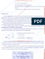 Razones Trigonometric As de Un Angulo Agudo