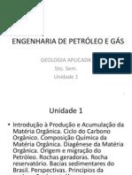 Unidade 1Geologia Aplicada