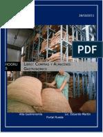 Manual Compras Almacen Empresas Gastronomia Libro
