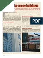 Earthquake prone buildings