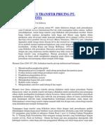 Analisis Kasus Transfer Pricing Pt
