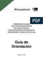 ECAES2009 GuiaOrientacion Lic Human Ida Des 2 ECAES