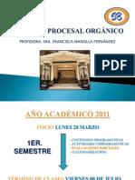 1RA CLASE D° PROCESAL ORGÁNICO