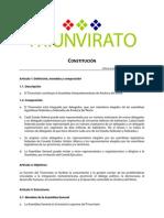 Constitution Triunvirato Esp 002