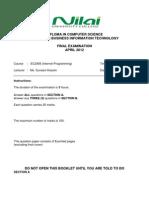 EC2308 Question Paper Final