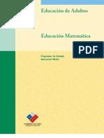 1° a 2° medio - matematica - 2007
