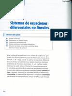 Capitulo 09 - Sistemas de Ecuaciones Diferenciales No Lineales