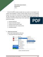 Tutorial Pembuatan Media Pembelajaran Interaktif Dengan Powerpointx