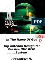 Tag Antenna Design for Passive UHF RFID System