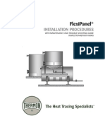PN54A001 instalación de heat tracing