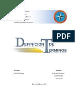 Definicion de Terminos DINAMICA de GRUPOS