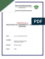 PRÁCTICA 3. REGISTRO DE CORRIMIENTO Y BANCOS DE MEMORIA
