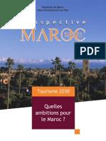 Prospective Maroc 2030- Tourisme 2030, Quelles Ambitions Pour Le Maroc