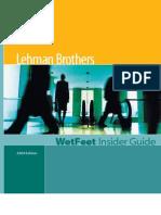 Lehman Brothers (2004 Edition)