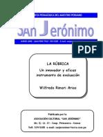 16918521 LA RUBRICA to de Evaluacion Wilfredo Rimari