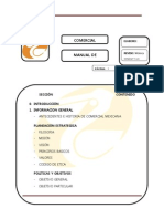 Manual de Organizacion Comer