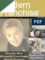 Modern Franchise Magazine February - 2012