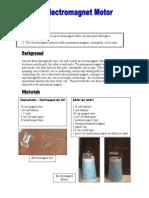 FUSE Electromagnet Motor