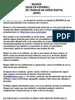 REAPER EN ESPAÑOL BASICO