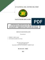 Resumen Del Proyecto de Investigacion