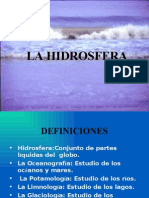 (4) La Hidrosfera Modificado