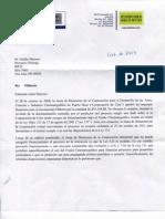 Carta Corporacion de Cine de Puerto Rico
