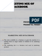 Marketing Mix of Facebook