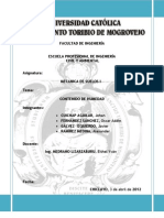 MECÁNICA DE SUELOS I - INFORME