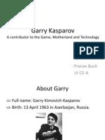 Presentation Garry Kasparov