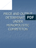25969174 Price and Output Determination Under Monopolistic on