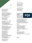 Letra de Canciones Cristian As