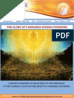 The Glory of Vaisakha Poornima