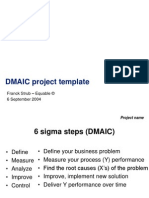 Equable DMAIC Template July 2004